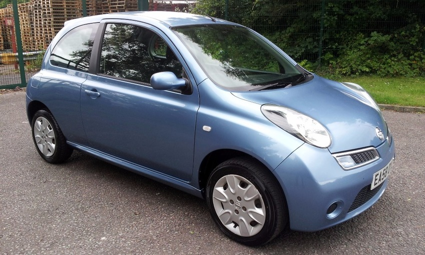 View NISSAN MICRA ACENTA 1.2 3Dr FSH