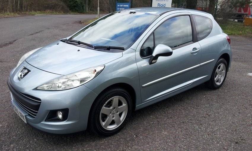 View PEUGEOT 207 MILLESIM LIMITED EDITION FSH