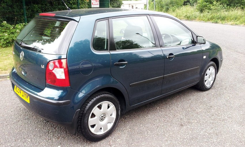 View VOLKSWAGEN POLO 1.4 TWIST 5Dr Automatic
