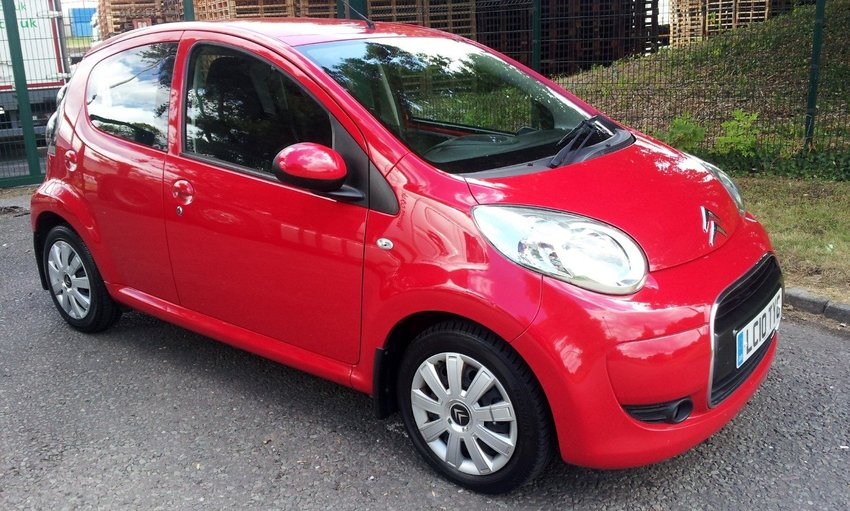 View CITROEN C1 VTR PLUS 1.4 HDI FSH £20 ROAD TAX