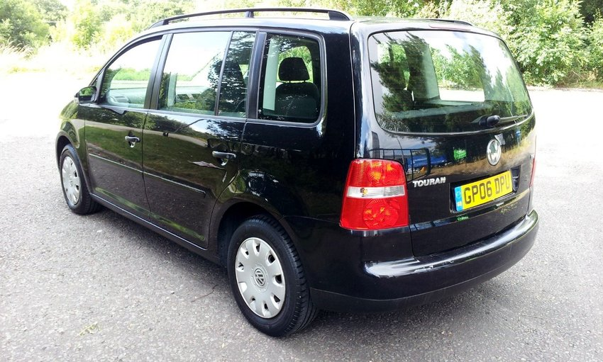 View VOLKSWAGEN TOURAN 1.9 TDI 7 Seats PART EX TO CLEAR