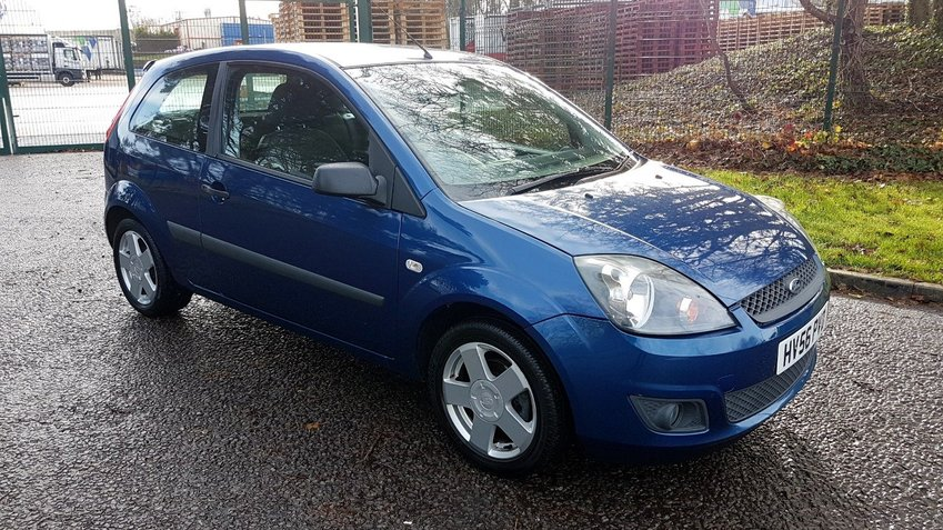 View FORD FIESTA ZETEC CLIMATE 1.4 NEW MOT