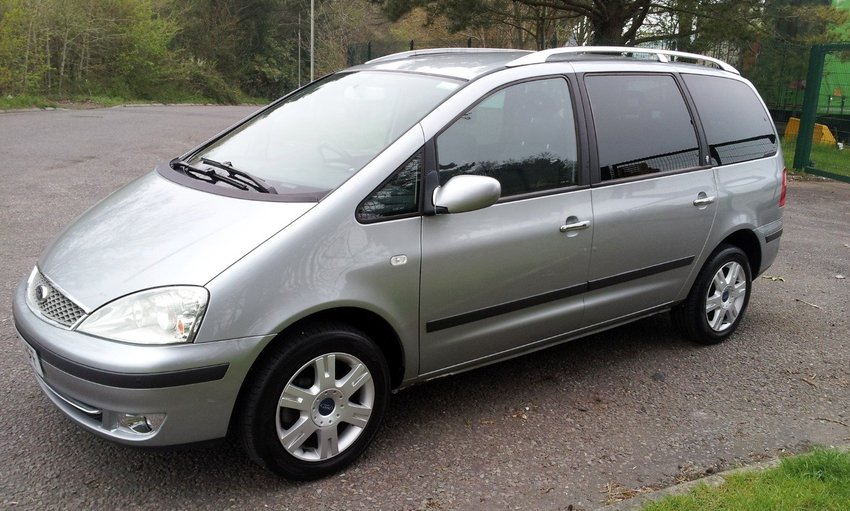 View FORD GALAXY TDi 130 Ghia FSH