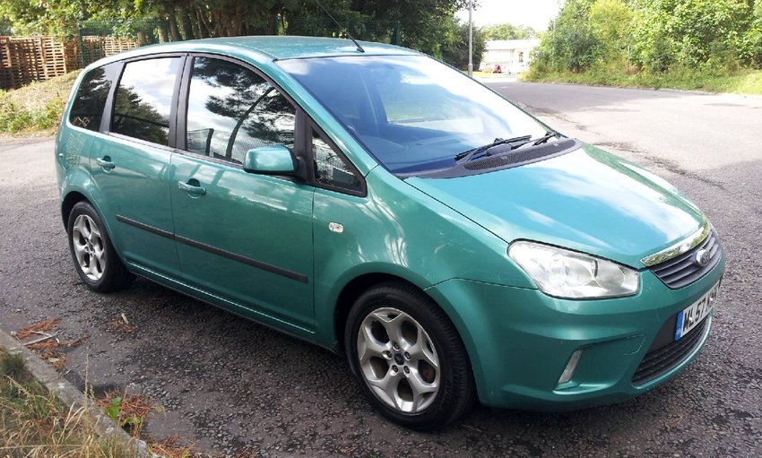 View FORD C-MAX  1.8 Zetec Petrol MPV PART EX TO CLEAR