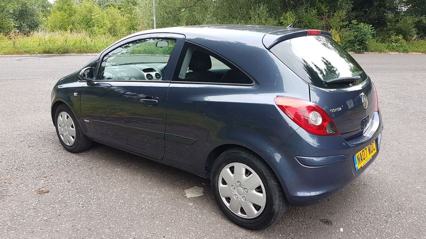 View VAUXHALL CORSA  1.4 Club Full Service History