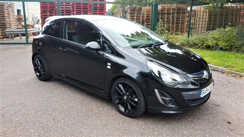 VAUXHALL CORSA CDTi 75 Black Limited Edition £20 VED