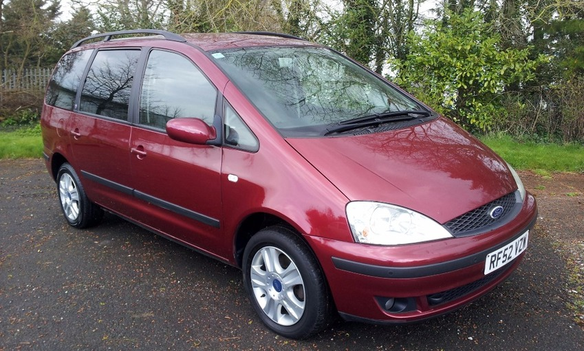 View FORD GALAXY GHIA TDI