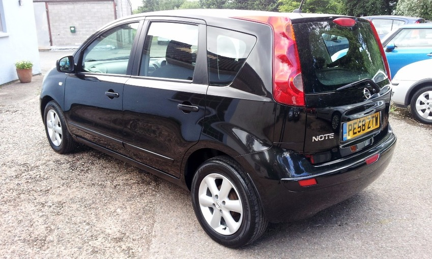 View NISSAN NOTE ACENTA 1.4 MPV
